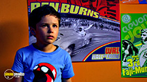 A still #43 from Speed Racer with Nicholas Elia