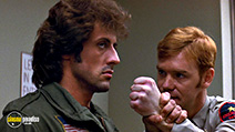 A still #25 from Rambo 3 with Sylvester Stallone