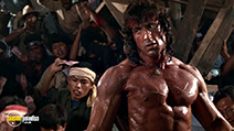 A still #23 from Rambo 3 with Sylvester Stallone