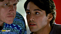A still #19 from Point Break with Keanu Reeves and Gary Busey