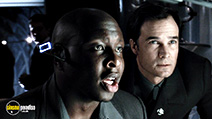A still #40 from Minority Report with Steve Harris and Eugene Osment