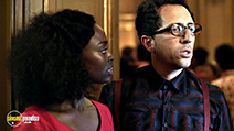 A still #28 from Mood Indigo with Gad Elmaleh and Aïssa Maïga