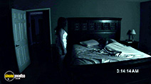 A still #25 from Paranormal Activity with Katie Featherston