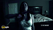 A still #21 from Paranormal Activity with Katie Featherston