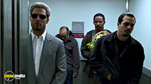 A still #15 from Collateral with Tom Cruise, Mark Ruffalo and Jamie Foxx