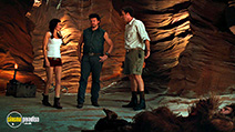 A still #28 from Land of the Lost with Anna Friel, Will Ferrell and Danny McBride