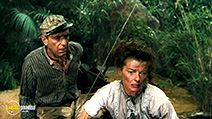 A still #28 from The African Queen with Humphrey Bogart and Katharine Hepburn