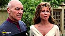 A still #1 from Star Trek 9: Insurrection (1998) with Patrick Stewart and Donna Murphy