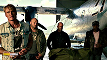 A still #23 from The Expendables 3 with Dolph Lundgren, Jason Statham and Randy Couture