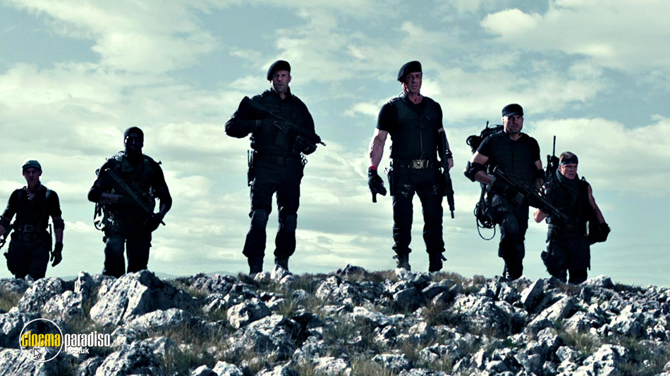 The Expendables 3 online DVD rental