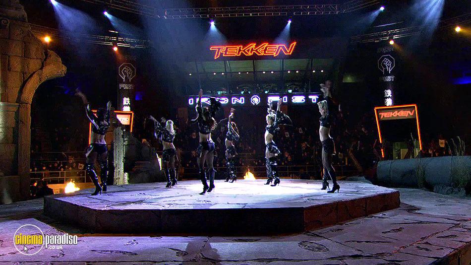 Tekken online DVD rental