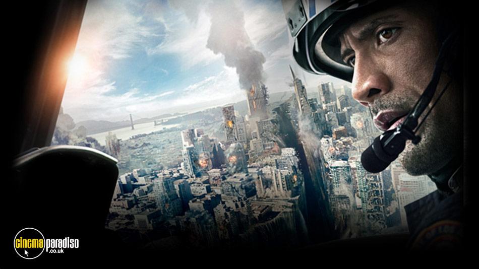 San Andreas online DVD rental