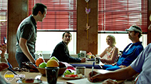 A still #6 from Cooties with Elijah Wood, Alison Pill, Leigh Whannell and Rainn Wilson