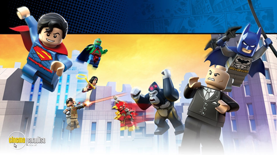 Lego DC Super Heroes: Justice League: Attack of the Legion of Doom! online DVD rental