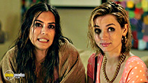A still #1 from Knock Knock (2015) with Ana de Armas and Lorenza Izzo