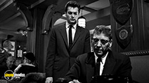 A still #36 from Sweet Smell of Success with Burt Lancaster and Tony Curtis