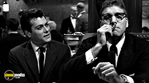 A still #34 from Sweet Smell of Success with Burt Lancaster and Tony Curtis