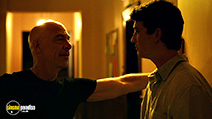 A still #25 from Whiplash with J.K. Simmons and Miles Teller