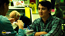 A still #21 from Whiplash with Miles Teller