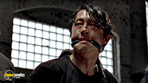 A still #6 from The Walking Dead: Series 5 (2014) with Steven Yeun