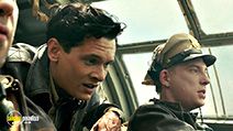 A still #59 from Unbroken with Domhnall Gleeson and Jack O'Connell