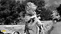 A still #5 from Forbidden Games (1952) with Brigitte Fossey