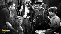 A still #8 from Forbidden Games (1952) with Brigitte Fossey and Georges Poujouly