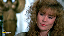 A still #2 from Highlander (1986) with Roxanne Hart