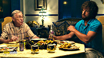 A still #52 from You Don't Mess with the Zohan with Shelley Berman and Adam Sandler