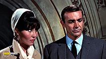 A still #61 from Thunderball with Sean Connery