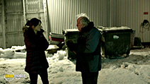 A still #66 from Fortitude: Series 1 with Michael Gambon and Jessica Raine