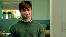 A still #27 from What If? with Daniel Radcliffe
