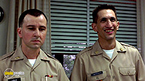 A still #26 from Good Morning, Vietnam with Bruno Kirby and Richard Edson