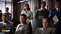 A still #2 from Agent Carter: Series 1 with Hayley Atwell and Kyle Bornheimer