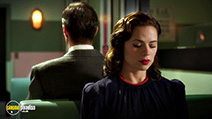 A still #7 from Agent Carter: Series 1 with James D'Arcy and Hayley Atwell