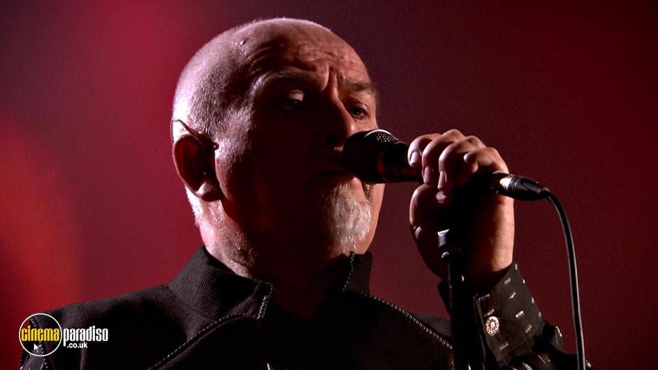 Peter Gabriel: New Blood: Live in London online DVD rental