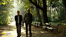 A still #6 from Thick as Thieves with Antonio Banderas and Morgan Freeman
