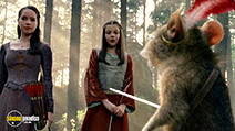 A still #22 from The Chronicles of Narnia: Prince Caspian with Anna Popplewell and Georgie Henley