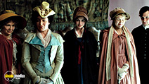 A still #2 from Becoming Jane with Lucy Cohu, Anne Hathaway and Anna Maxwell Martin