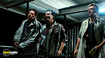 A still #2 from The Terminator with Bill Paxton, Brian Thompson and Brad Rearden