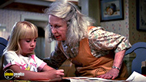 A still #5 from Poltergeist 2: The Other Side (1986) with Geraldine Fitzgerald and Heather O'Rourke