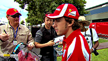 Still #6 from Formula One: The Official Review 2011