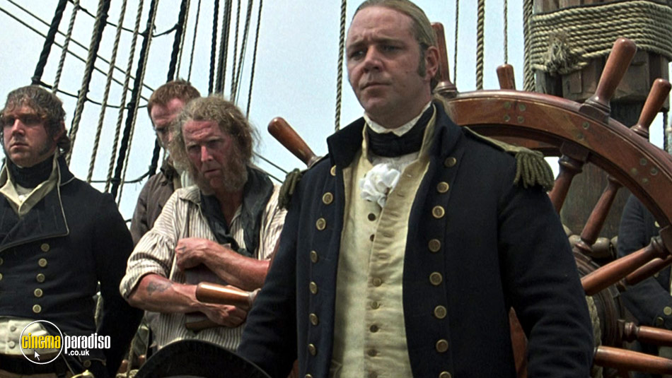 Master and Commander: The Far Side of The World online DVD rental