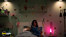A still #6 from Paranormal Activity: The Ghost Dimension (2015) with Brit Shaw and Ivy George