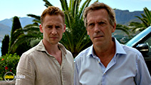 A still #39 from The Night Manager with Hugh Laurie and Tom Hiddleston