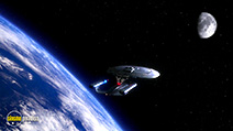 A still #44 from Star Trek: The Next Generation: The Best of Both Worlds