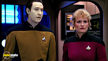 A still #43 from Star Trek: The Next Generation: The Best of Both Worlds with Brent Spiner