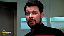 A still #42 from Star Trek: The Next Generation: The Best of Both Worlds with Jonathan Frakes