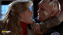A still #3 from From Beyond (1986) with Jeffrey Combs and Barbara Crampton