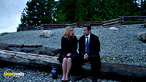 A still #6 from X-Files: Series 10 (2016) with David Duchovny and Gillian Anderson